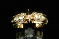 14kyg diamond engagement ring mounting