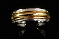 18ktt man's 7.4mm wedding band