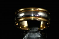 18ktt man's 8.0mm wedding band
